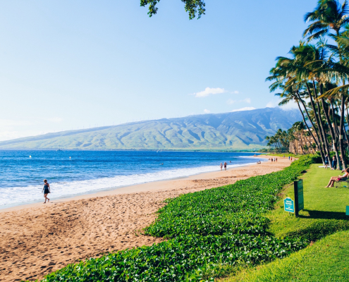 best beaches in maui